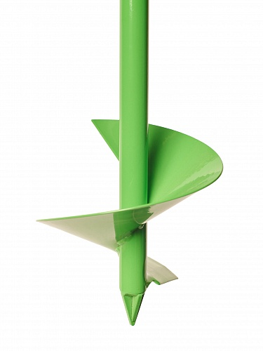 Drill bottom, 100 mm diameter auger